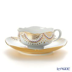 Meissen Cup and Saucer Set