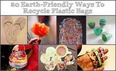 Instructions on how to fuse plastic bags! - 20 Earth-Friendly Ways To Recycle Plastic Bags Reduce Reuse Recycle, Ways To Recycle, Diy Recycle, Plastic Bag Crafts, Recycled Plastic Bags, Crafts To Make, Fun Crafts, Plastic Sheets, Home Made Soap