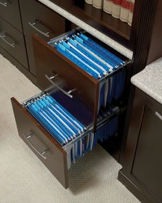 Beautiful Pedestal Base Pb1 With 1 File Drawer And 2 Small Drawers