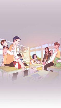 Anime Love Couple, Cute Anime Couples, Couple Illustration, Graphic Illustration, Teen Web, Korean Art, Korean Drama, Teen Images, Cover Wattpad