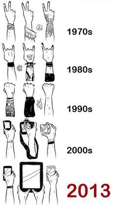 La evolución del público en los conciertos de rock