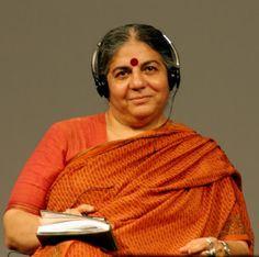 A Jurubeba Cultural: ● Gente ... do planeta. Vandana Shiva (Física, ecofeminista e ativista ambiental da Índia).