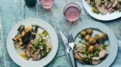 A spring roast that will be the centerpiece of your dinner table.#NotYourGrandmasLamb