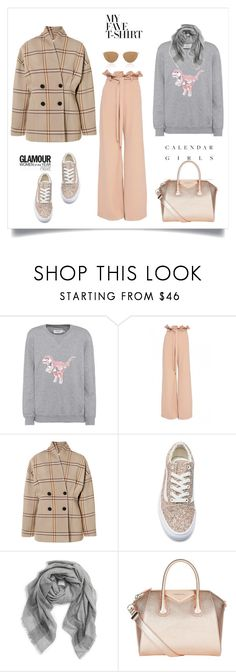 """""""Dress Up a T-Shirt♥♥♥"""" by marthalux ❤ liked on Polyvore featuring Kerr®, Coach, Totême, Vans, Goody, Tory Burch, Givenchy, Oliver Peoples and MyFaveTshirt"""