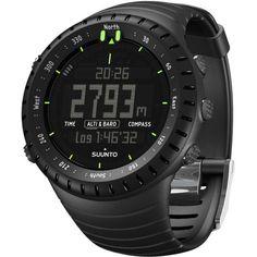 Suunto Core All Black Multifunktionsuhr all black Sport Watches 681b4f277a