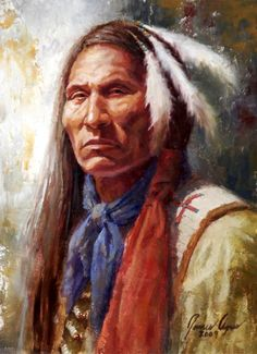 Lakota Brave - by James Ayers