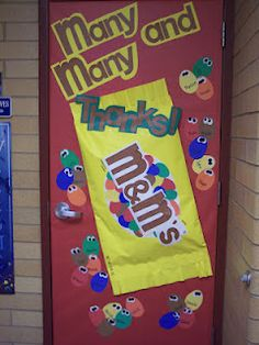Teacher appreciation week, door decoration