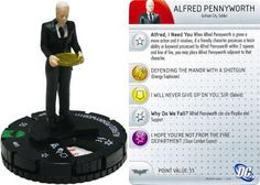 Alfred Pennyworth #013 The Dark Knight Rises DC Heroclix
