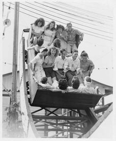 One-of-a-kind Teeter Dip- Fairyland, Kansas City MO (long-gone) Old Pictures, Old Photos, Vintage Photos, Amusement Park Rides, Pony Rides, Kansas City Missouri, Carnival Rides, Historical Pictures, Fairy Land