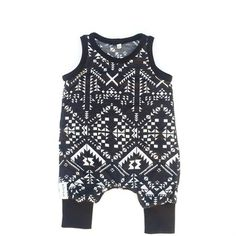 Black and white Baby romper in… Black And White Baby, Baby Accessories, Rompers, Blouse, Tops, Women, Fashion, Moda, Fashion Styles