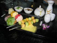 Haagen-Dazs ice cream sushi!!