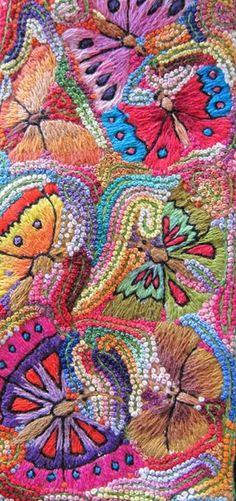 Cotton embroidery thread - PUCHKA Peru Textile / Folk Art / Market Tours