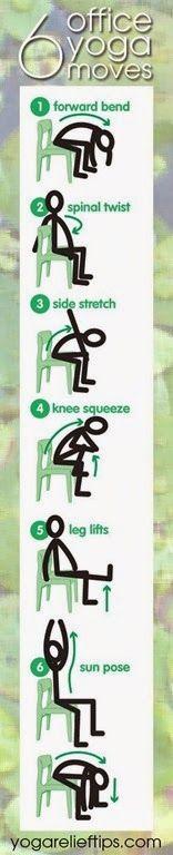 We loved using some of these chair exercises today when it was too cold to go outside and walk!