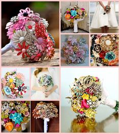 wedding brooch bouquets inspirations