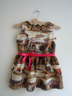 A cowgirl dress