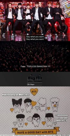 The story of Bangtan Hip Hop Monster.