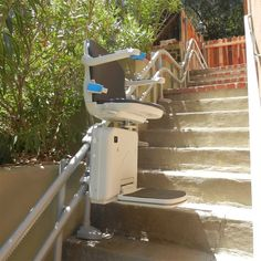Towson Medical Equipment offers stair lift rentals in Baltimore, MD. Call us at 882 4005 for all medical rentals in Baltimore! West Palm Beach Florida, South Florida, Walking Up Stairs, Outside Stairs, Straight Stairs, Front Door Steps, Stair Lift, Outdoor Steps, Fort Lauderdale
