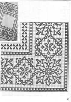 This Pin was discovered by Arz Cross Stitch Sampler Patterns, Cross Stitch Borders, Cross Stitch Rose, Cross Stitch Alphabet, Needlepoint Patterns, Cross Stitching, Embroidery Patterns, Crochet Cross, Crochet Chart