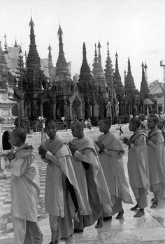 Henri Cartier-Bresson // Burma, 1948 - - Yangoon