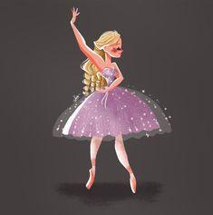 Ballet Drawings, Barbie Drawing, Cartoon As Anime, Barbie Movies, Princess Aesthetic, Amazing Drawings, Barbie World, Animal Sculptures, Kawaii Anime