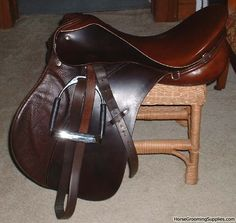 Barnsby Saddleseat Saddle - This color would look beautiful on Tessa