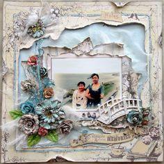 Simple & Sweet Memories - Scrapbook.com  ....Wendy Schultz onto Scrapbook Art.