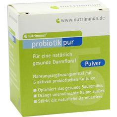 PROBIOTIK Pur Pulver:   Packungsinhalt: 10X2 g Pulver PZN: 03728498 Hersteller: nutrimmun GmbH Preis: 6,59 EUR inkl. 7 % MwSt. zzgl.…