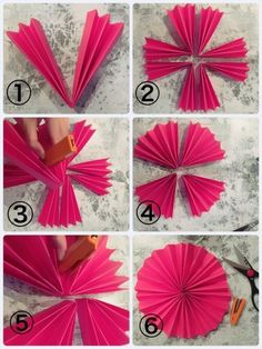 Make with 100 yen products! Practice introducing cute home party decorations - PARTYYY - 結婚式 Paper Flowers Craft, Flower Crafts, Diy Flowers, Paper Crafts, Diy Birthday Decorations, Paper Decorations, Christmas Decorations, Diy Home Crafts, Diy Arts And Crafts