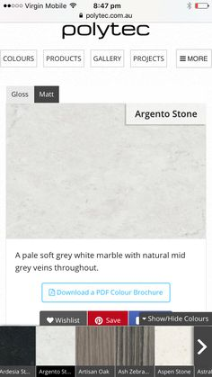 White Marble, Grey And White, Colours