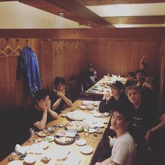 2 October 2016 babies having a meal together for the first time in ages <3 EXO