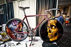 The Evil Dead track bike at NAHBS 2012.