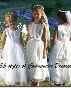When it comes time to schedule (or reschedule) your daughter's first communion, we have 35+ styles and all manufactured here in the US according to your wishes. Pure silk, organza, embroideries and more. Choose sleeve lengths, special fits available. Click to chat, call or explore Pegeen.com Once ordered for your Parish, we will not allow anyone else to purchase THAT style for your Parish to maintain exclusivity. #firstcommunion #communiondresses #communion #firstholycommunion