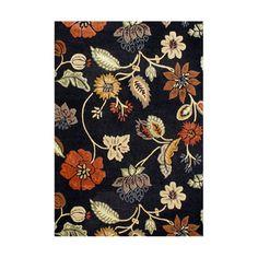 Handmade Alliyah Black New Zealand Wool and Viscose Rug (8' x 10')
