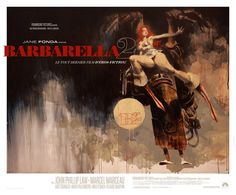 Barbarella movie print $95