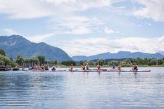 Stand Up Paddling auf den Seen um München