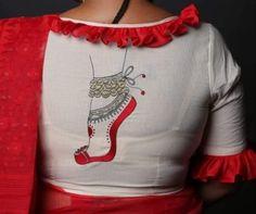 Stylish Blouse Design, Fancy Blouse Designs, Bridal Blouse Designs, Blouse Neck Designs, Kerala Saree Blouse Designs, Designer Blouse Patterns, Colorful Fashion, Bridal Sarees, Indian