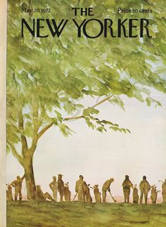 The New Yorker - Saturday, May 20, 1972 - Issue # 2466 - Vol. 48 - N° 13 - Cover by : James Stevenson