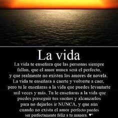 La vida Positive Phrases, Motivational Phrases, Positive Quotes, Amor Quotes, True Quotes, Words Quotes, Neruda Quotes, Spanish Inspirational Quotes, Spanish Quotes