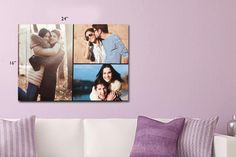 I just bought Personalised A2 Canvas (now £10.99) via @wowcher