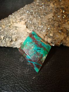 Chrysocolla Tie Tack Hat Pin by superioragates on Etsy, $10.00