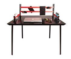 Clever Desk Design Assembles In Seconds, is Held Together With Ratchet Straps : TreeHugger