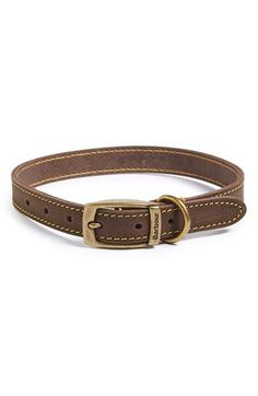 Barbour Leather Dog Collar available at #Nordstrom