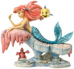 Disney Traditions by Jim Shore Little Mermaid Stone Resin Figurine