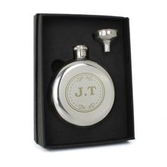 Personalised Any Message Stainless Steel Round Hip Flask Gift Personalised Hip Flask, Personalized Gifts, Gifts For Wedding Party, On Your Wedding Day, Party Gifts, Wedding Hip Flasks, Groomsman Gifts, Groom Gifts, Alcohol Gifts