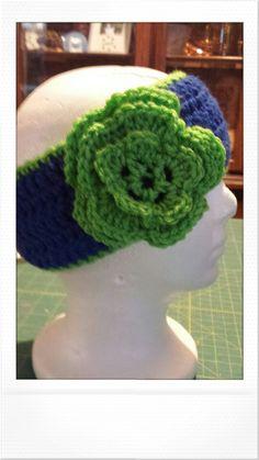 Seahawk headband