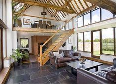 converted barn interiors   Visions of Barn Conversions -