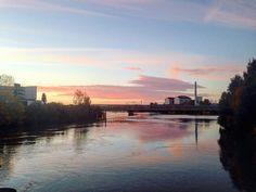 Nantes le soleil et l'eau