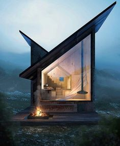 Carpineto Mountain Refuge, 📐 by Paulo Danesi #Architect, 📍 #Rome #Italy, #modernarchitect