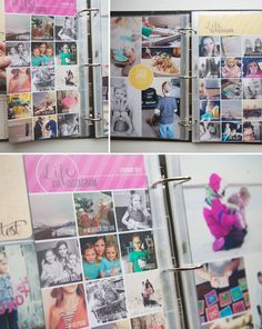 "Monthly Photo Collages ""Back in 2010 I started a tradition of putting together a photo collage at the end of each month to highlight a few of our favourite family memories. It was a quick + easy way to get those photos documented and at the end of the year it was such a satisfying feeling to look back at all the collages I'd created!"" simpleasthatblog.com"