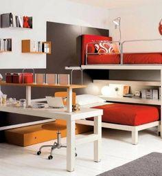 Habitaciones juveniles para chicos y chicas. Muebles, ideas y Habitaciones para Adolescentes